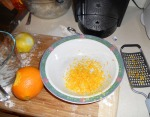 Orange and lemon peels